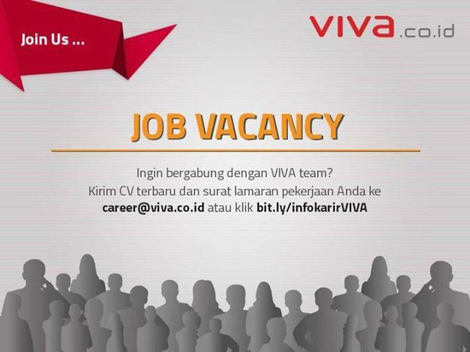 1019 medium lowongan pekerjaan di situs berita viva