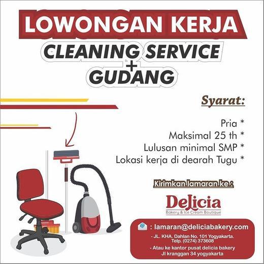 Lowongan Cleaning Service Jogja Indah Pratiwi Di Ngampilan Yogyakarta 25 Nov 2020 Loker Atmago Warga Bantu Warga
