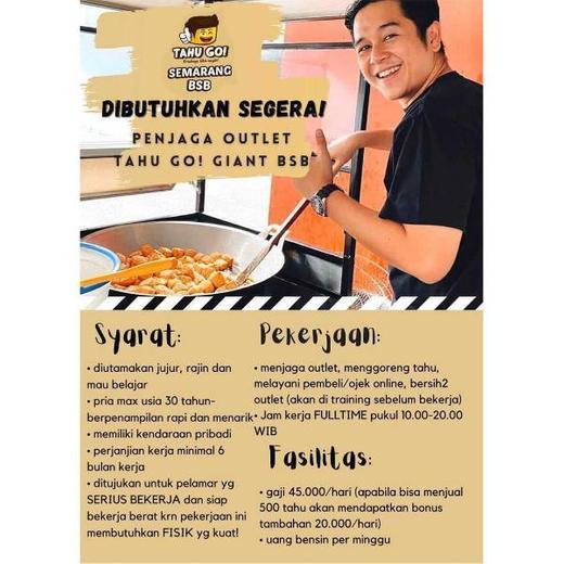 Penjaga Outlet Semarang - Gibran Waluyo, 7 Dec 2020 ...