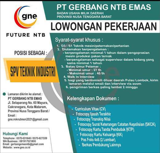 Lowongan Kerja Loker Terbaru Di Lombok Tengah Atmago