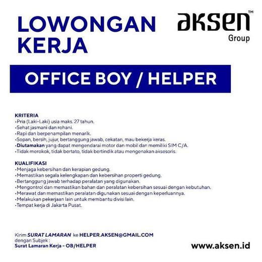 Lowongan Kerja Loker Terbaru Di Sawah Besar Jakarta Pusat Atmago