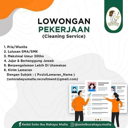 Lowongan Kerja Loker Terbaru Di Bogor Utara Bogor Kota Atmago