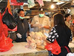 1153 small awasi makanan berbahaya  dinas kpkp gandeng kepolisian