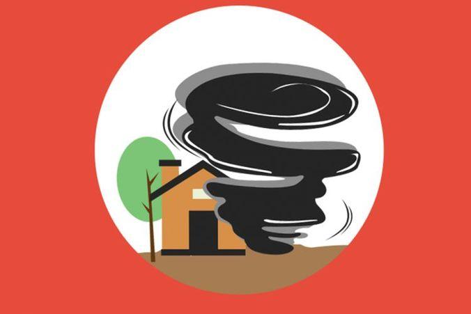 11563 medium 750x500 ratusan rumah rusak akibat puting beliung di dua kecamatan di malang 170321o