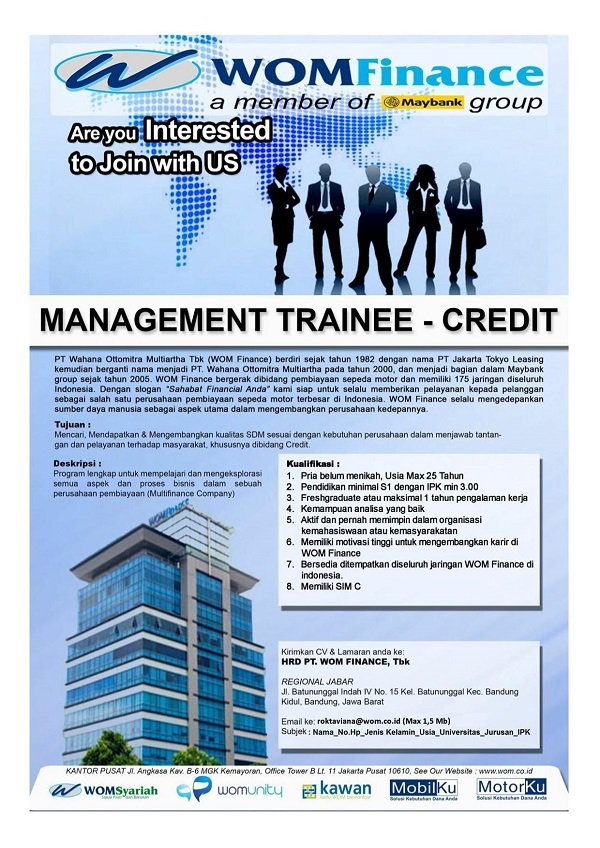 12220 medium management trainee