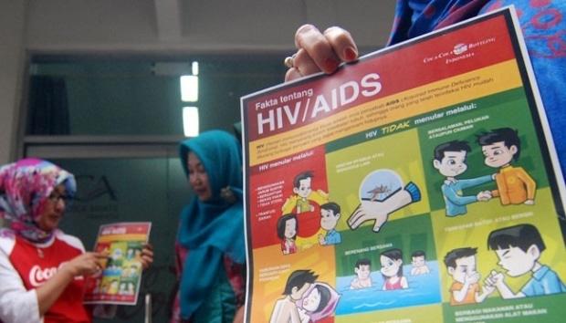 12710 medium dinas kesehatan penderita hiv di depok meningkat tajam
