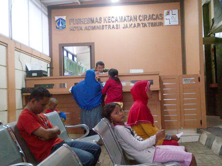 1302 medium puskesmas kecamatan ciracas tak punya ruang rawat inap