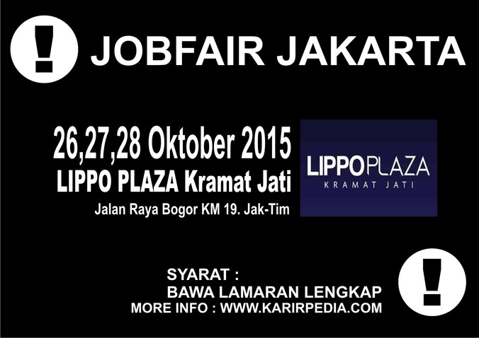 13168 medium jobfair kramat jati