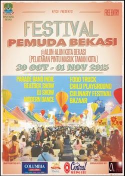 13169 small festival pemuda bekasi alun alun kota bekasi 30 okt 1 nov 2015