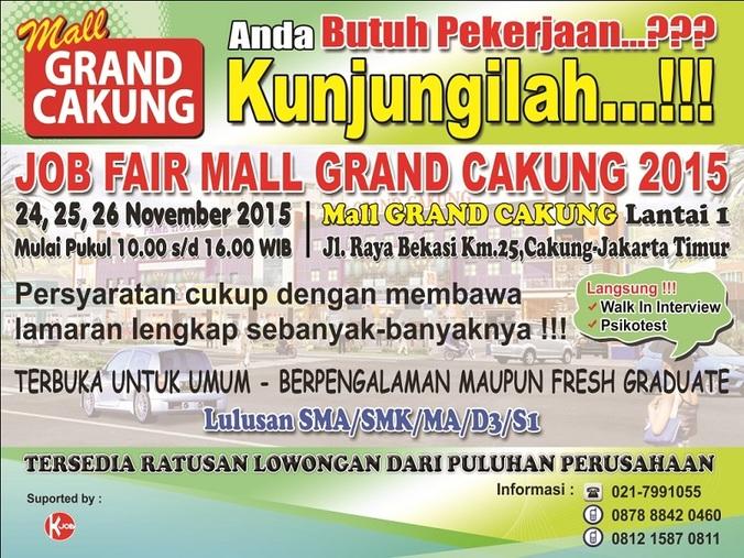 13187 medium job fair grand cakung bekasi