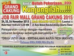 13187 small job fair grand cakung bekasi