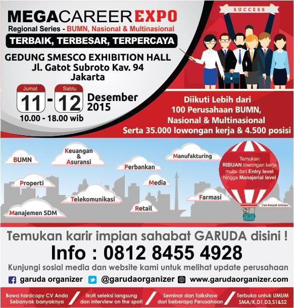 13204 medium job fair mega career expo jakarta desember 2015