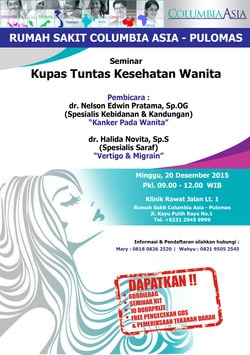 13216 small seminar kupas tuntas kesehatan wanita