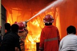 13229 small puluhan rumah di taman sari ludes terbakar