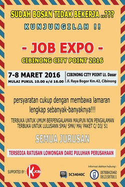 13294 small job expo cibinong city point 2016