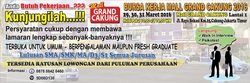 13316 small bursa lowongan kerja mall grand cakung 2016