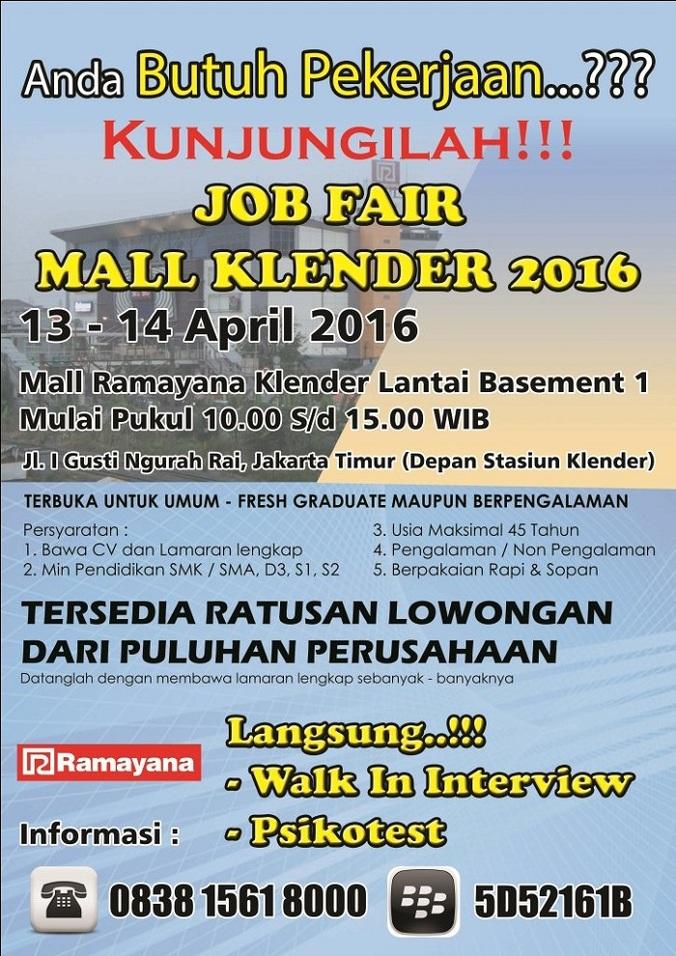 13330 medium jobfair mall klender %e2%80%93 april 2016