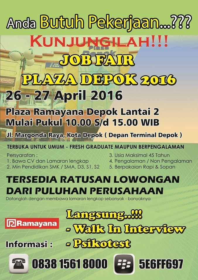 13340 medium jobfair plaza depok 2016