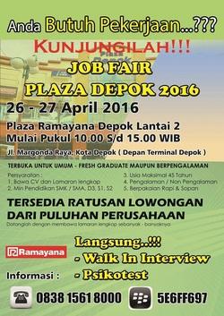 13340 small jobfair plaza depok 2016