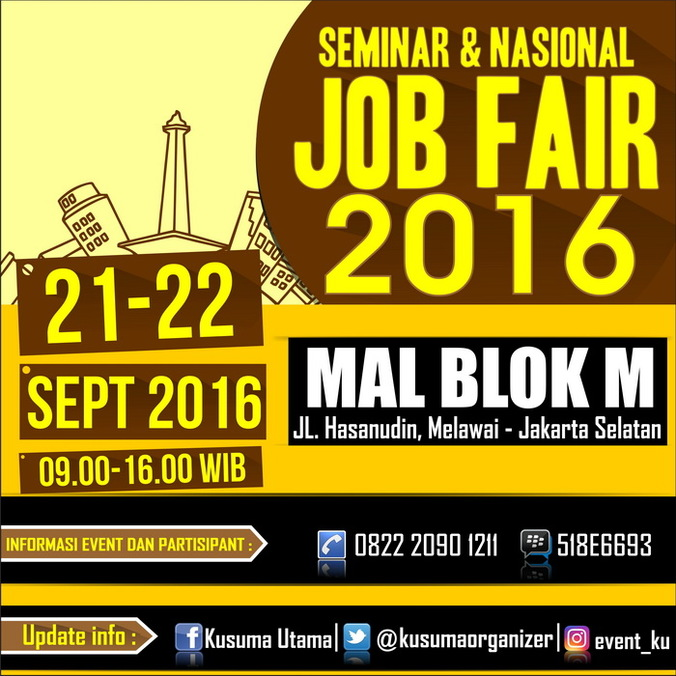 13456 medium seminar nasional job fair