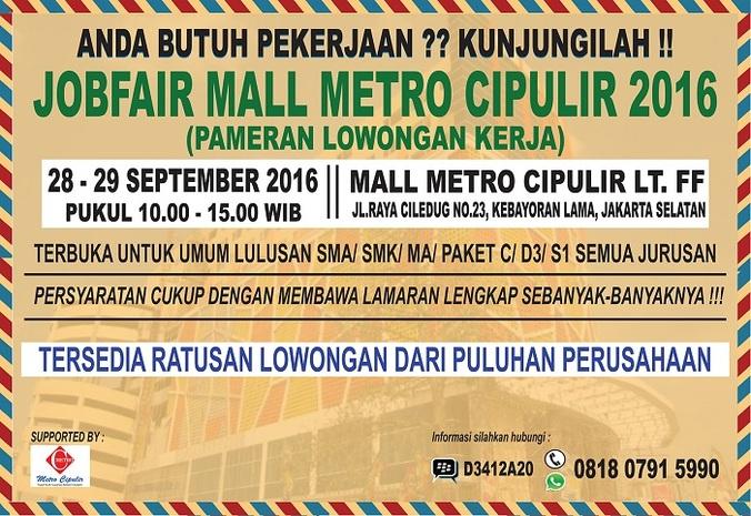 13509 medium %28info karir%29 job fair mall metro cipulir   september 2016