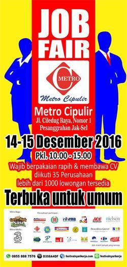 13625 small %28info karir%29 job fair metro cipulir %e2%80%93 desember 2016
