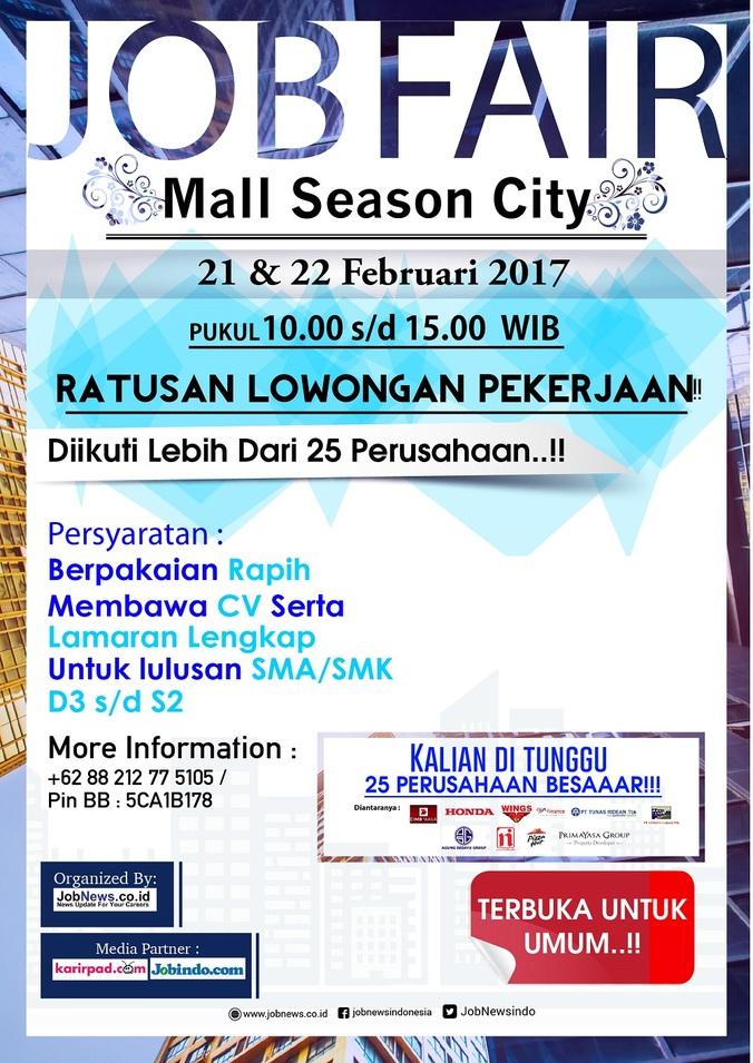 13700 medium %28info karir%29 job fair mall season city %e2%80%93 jakarta barat