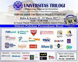 13767 small %28info karir%29 job fair universitas trilogi %e2%80%93 maret 2017