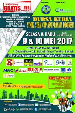 13857 small job fair stmik  stba  chp asm pranata indonesia