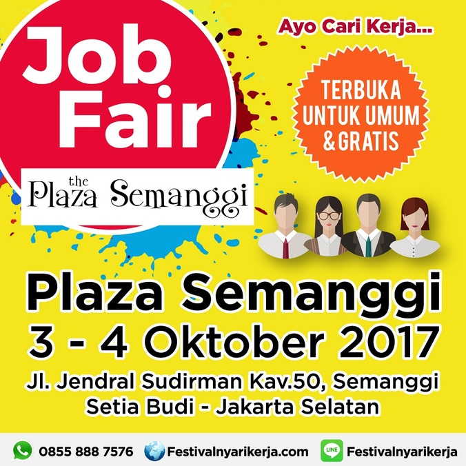 16851 medium job fair %e2%80%8bakbar %e2%80%8bthe plaza semanggi%e2%80%8b