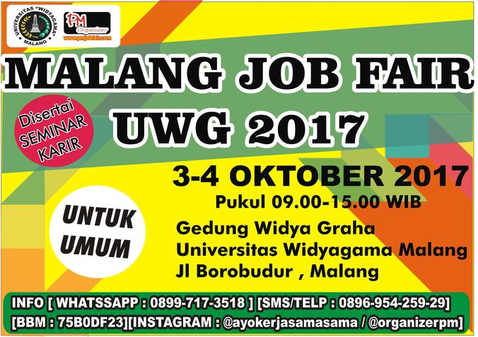 16969 medium malang job fair uwg %e2%80%93 oktober 2017