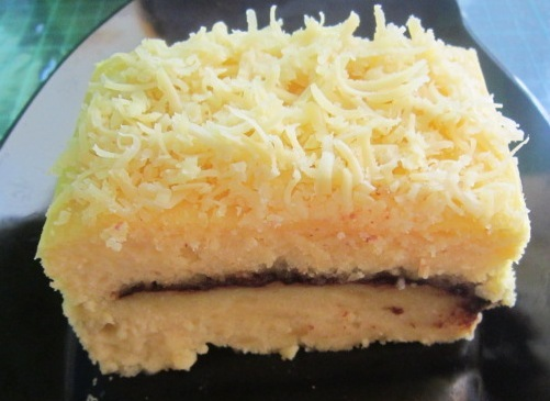 Resep Cake Kukus Modern: RESEP CAKE TAPE KEJU KUKUS 🍰