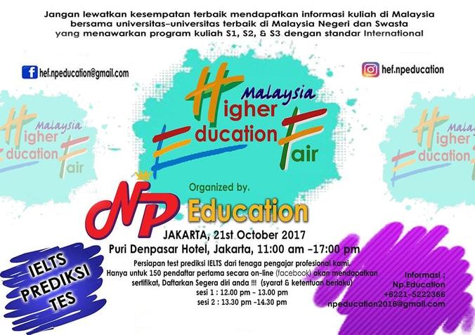 17291 medium pameran pendidikan tinggi malaysia