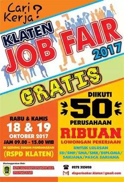 17463 small klaten job fair 2017