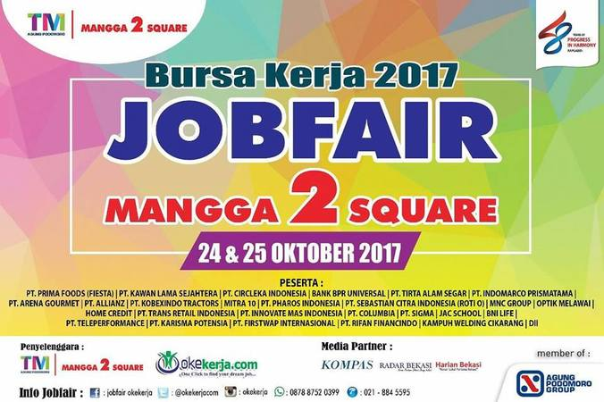 17602 medium job fair mangga 2 square