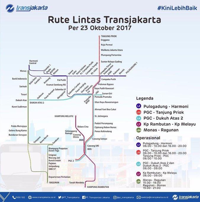 Rute Alternatif Transjakarta