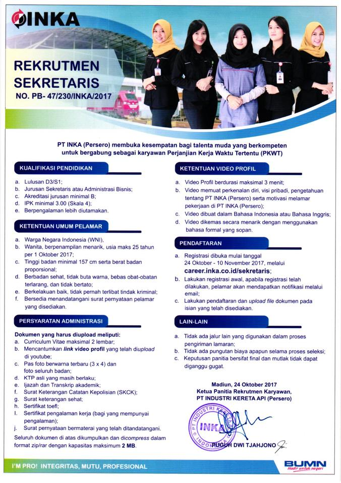 17783 medium rekrutmen sekretaris 2017