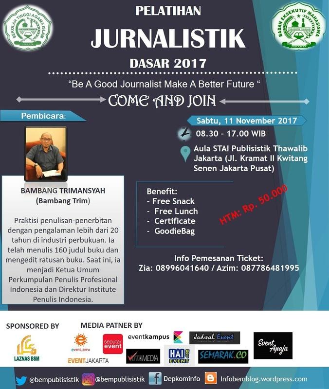 17900 medium pelatihan jurnalistik dasar 2017