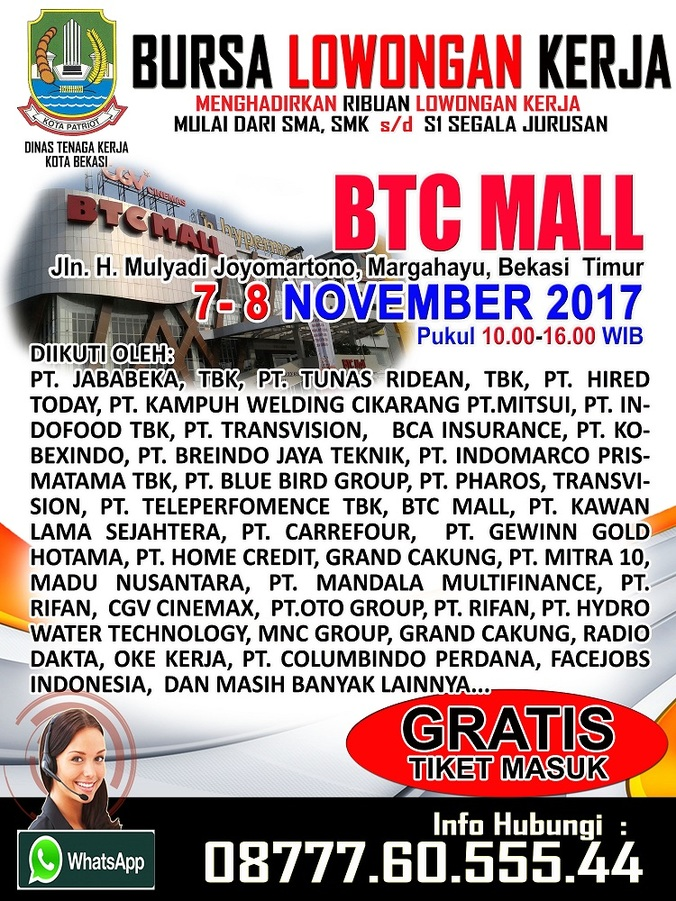 17921 medium job fair bekasi %e2%80%93 november 2017