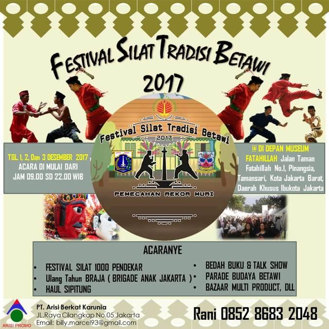 18037 medium festival silat betawi 2017