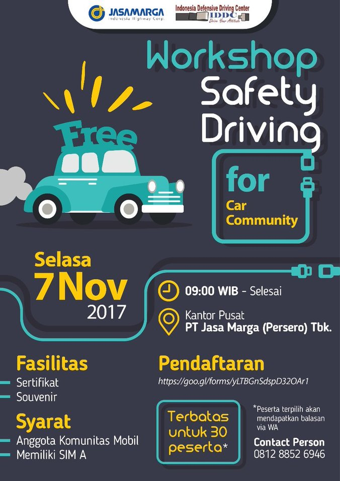 18146 medium safety driving pt jasa marga