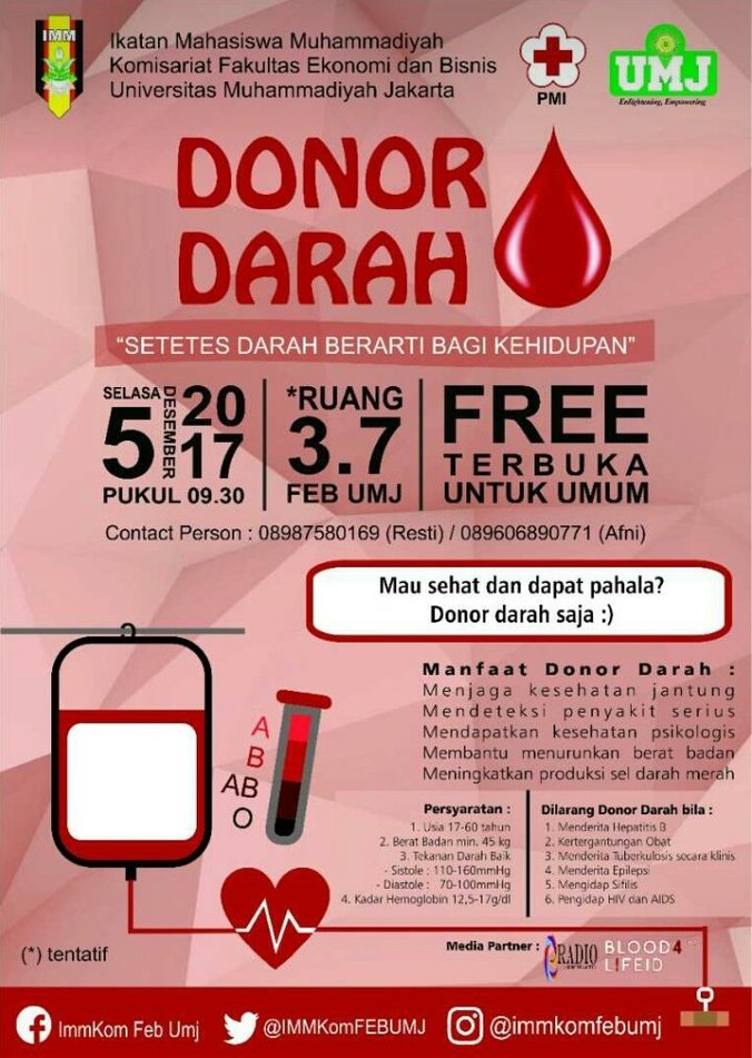 19014 medium donor darah umj