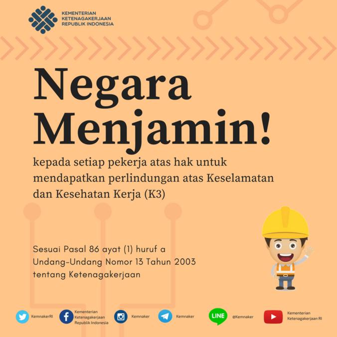 20350 medium perlindungan k3 bagi pekerja indonesia