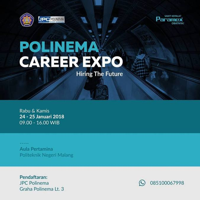 20537 medium polinema career expo %e2%80%93 januari 2018