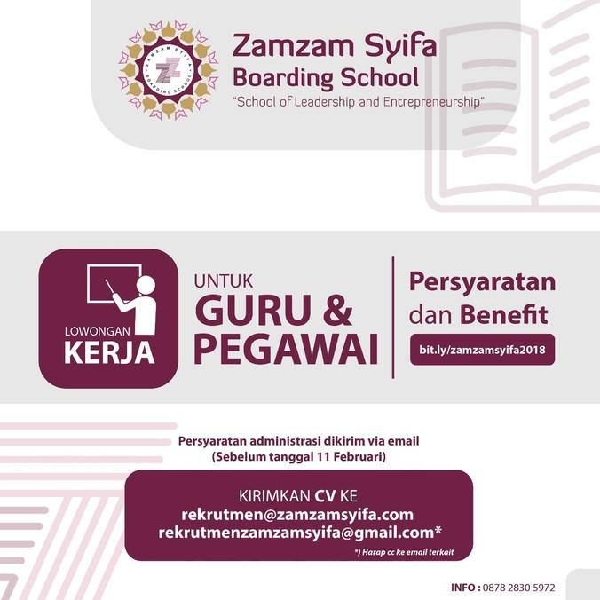 20601 medium penerimaan pegawai dan guru baru