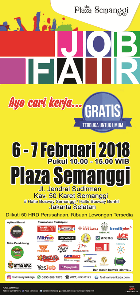 21011 medium job fair %e2%80%8bakbar %e2%80%8bthe plaza semanggi%e2%80%8b %e2%80%93 februari 2018