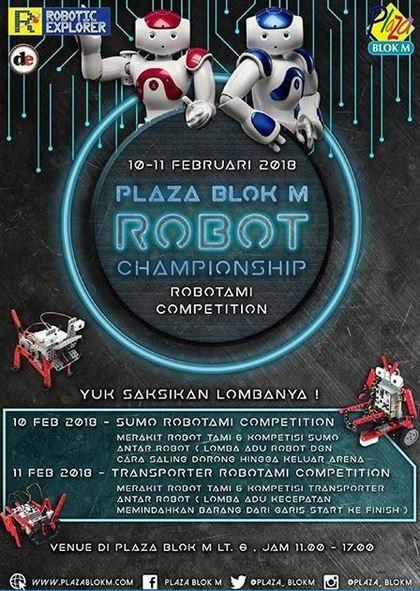 21105 medium plaza blok m robot championship