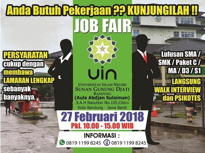 21143 medium jobfair uin sunan gunung djati bandung 2018