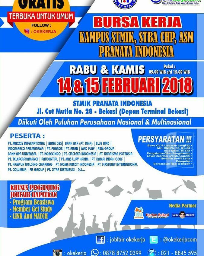 21277 medium bursa kerja kampus stmik pranata indonesia 2018