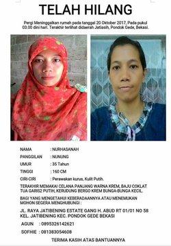 21406 small info warga hilang   bekasi  9 februari 2018